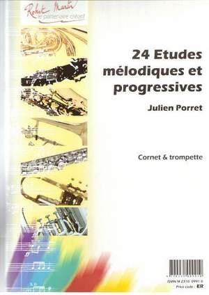 Julien Porret: Vingt-Quatre études Mélodiques et Progressives