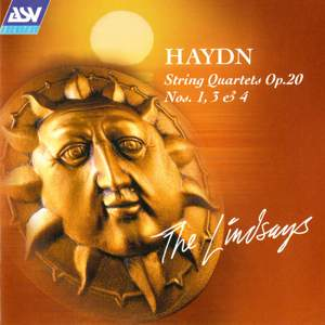 Haydn: Three String Quartets Op. 20 Product Image