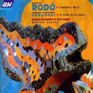 Gabriel Rodó: Symphony No. 2 Product Image