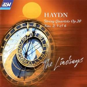 Haydn: String Quartets Op. 20 Nos. 2,5 & 6 Product Image