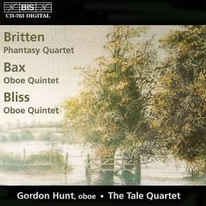 Britten: Phantasy Quartet for Oboe & String Trio, Op. 2, etc.
