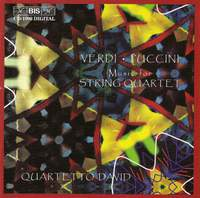 Crisantemi and other works for String Quartet