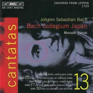 Bach - Cantatas Volume 13