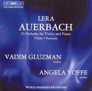 Auerbach: 24 Preludes for Violin and Piano, etc.