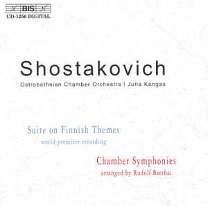 Shostakovich - Suite on Finnish Themes