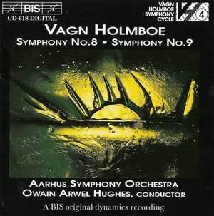 Holmboe: Symphonies Nos. 8 & 9