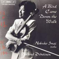 A Bird Came Down the Walk - Viola on Stage
