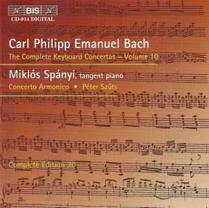 C P E Bach - Complete Keyboard Concertos, Volume 10