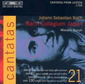 Bach - Cantatas Volume 21