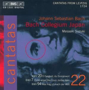 Bach - Cantatas Volume 22