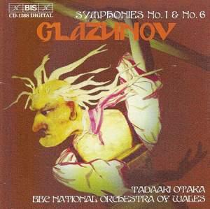 Glazunov: Symphony No. 1 in E major, Op. 5 'Slavyanskaya', etc.