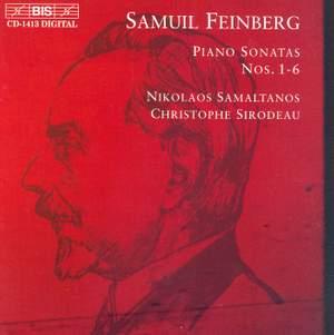 Feinberg: Sonatas Nos. 1, 4 & 5, etc.