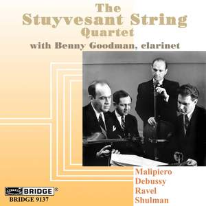 The Stuyvesant String Quartet with Benny Goodman