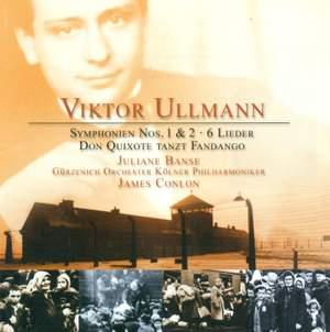 Ullmann, V: Symphony No. 1 'On my Youth', etc.