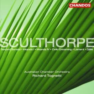 Sculthorpe: Irkanda I for solo violin, etc.