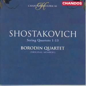 Shostakovich: String Quartets Nos. 1-13