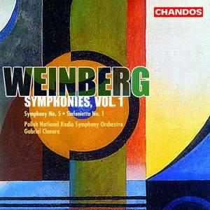 Weinberg - Symphonies Volume 1