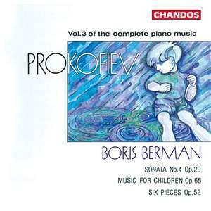 Prokofiev - Complete Piano Music Volume 3