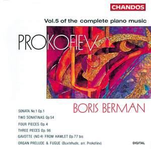 Prokofiev - Complete Piano Music Volume 5