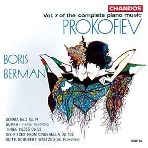 Prokofiev - Complete Piano Music Volume 7