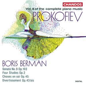 Prokofiev - Complete Piano Music Volume 8
