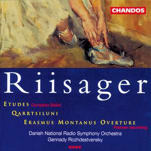 Riisager: Etudes (complete ballet), etc. Product Image