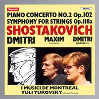 Shostakovich: Piano Concerto No. 2 in F major, Op. 102, etc.
