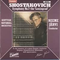 Shostakovich: Symphony No. 7 in C major, Op. 60 'Leningrad'