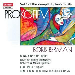 Prokofiev - Complete Piano Music Volume 1