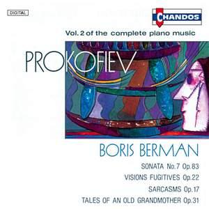 Prokofiev - Complete Piano Music Volume 2