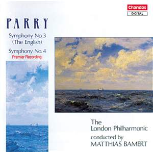 Parry: Symphony No. 3 in C major 'The English', etc.