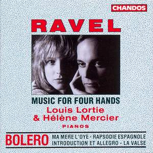 Ravel - Piano Music for Four Hands
