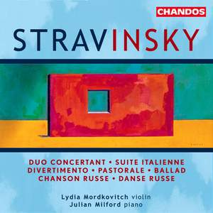 Stravinsky - Works for Violin & Piano Product Image