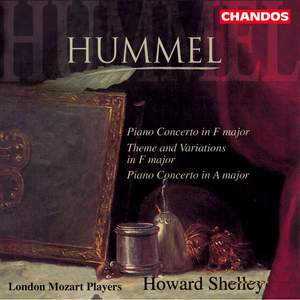 Hummel, J: Piano Concerto in F major, Op. post. I, etc.