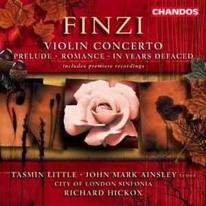 Finzi: Violin Concerto, etc.