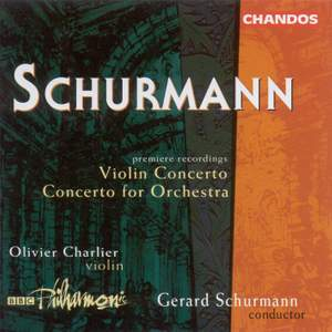 Schurmann, G: Concerto for Orchestra, etc.