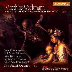 Matthias Weckmann - Sacred Concerti & Harpsichord Music