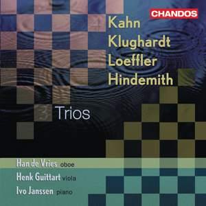 Trios for Oboe, Viola & Piano