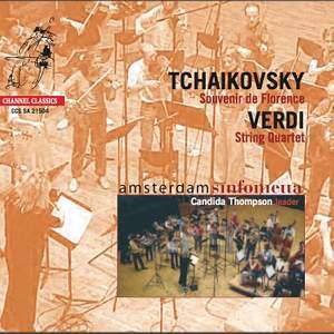 Tchaikovsky: Souvenir de Florence & Verdi: String Quartet