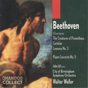 Beethoven: Piano Concerto No. 5 in E flat major, Op. 73 'Emperor', etc.
