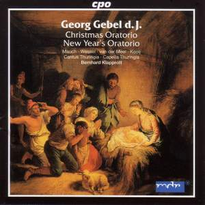 Gebel: Christmas Oratorio, etc. Product Image