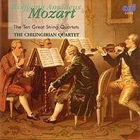 Mozart - The Ten Great String Quartets