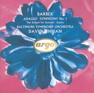 Barber: Adagio for Strings, Op. 11, etc.