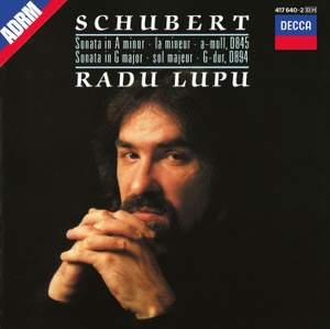 Radu Lupu plays Schubert Product Image
