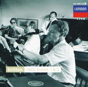 Britten: Cello Suites and Cello Sonata Product Image