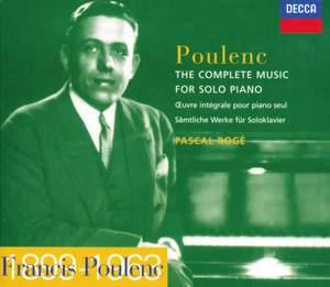 Poulenc: Piano Music Complete
