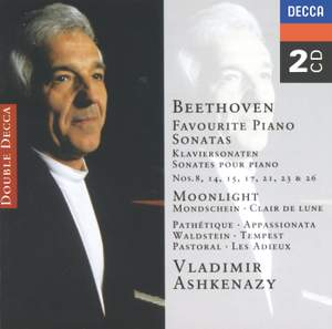 Beethoven - Favourite Piano Sonatas Product Image