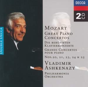 Mozart: Great Piano Concertos Product Image
