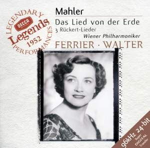 Kathleen Ferrier sings Mahler Product Image