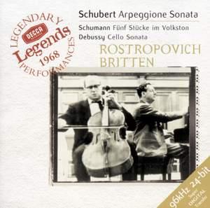 Schubert: Arpeggione Sonata Product Image